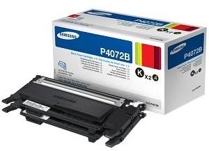Samsung CLT-P4072B, twin pack, černý