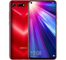 Honor View 20, 8GB/256GB, červená  + Honor Band 4, černá v hodnotě 1 199 Kč + Powerbanka EnerGEEK v hodnotě 499 Kč
