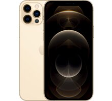Apple iPhone 12 Pro, 128GB, Gold - MGMM3CN/A