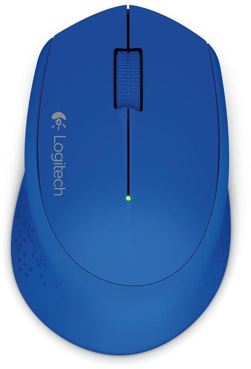 Logitech Wireless Mouse M280, modrá