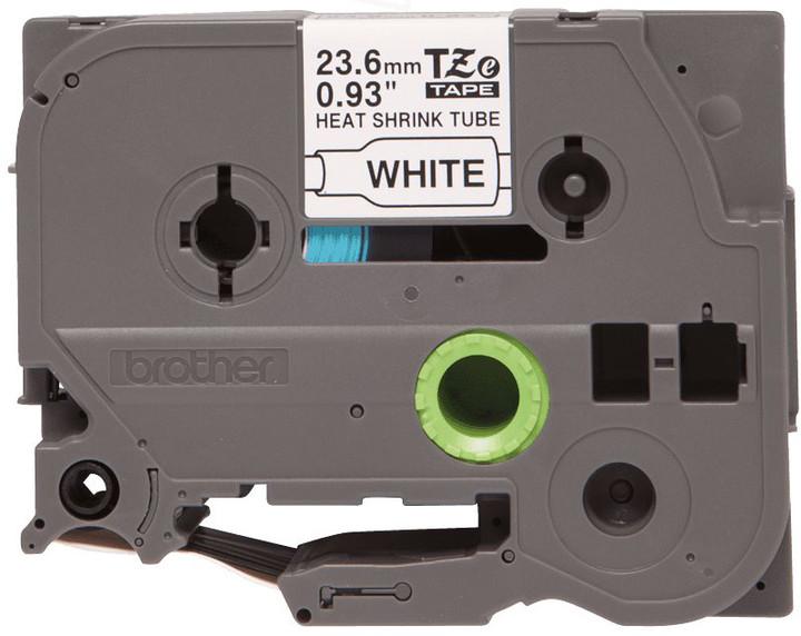 Brother - HSE-251, bužírka, bílá / černá (24 mm)