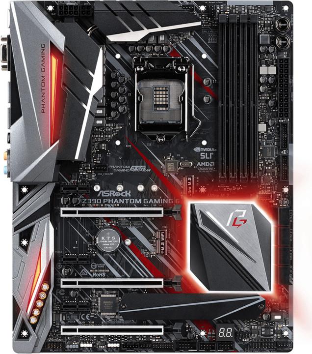 ASRock Z390 PHANTOM GAMING 6 - Intel Z390