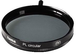 Hama filtr polarizační cirkulární 55 mm, černý