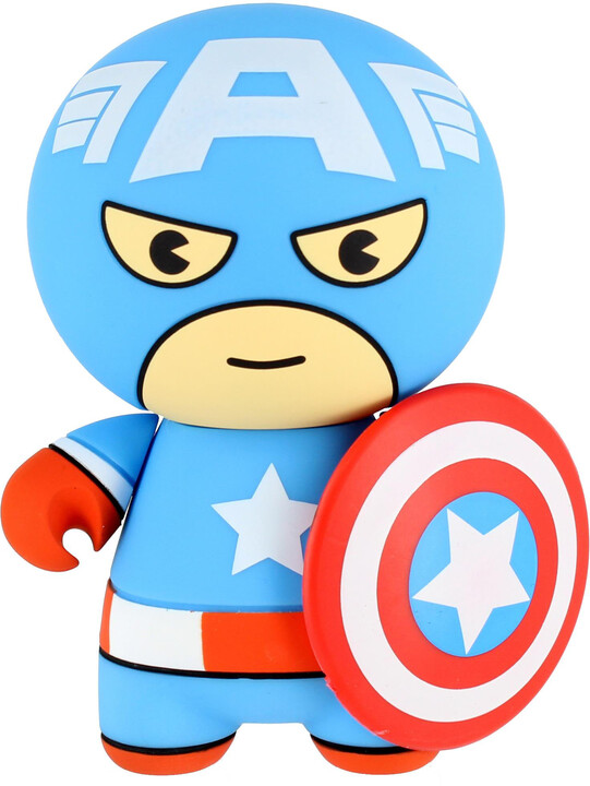 Lazerbuilt Marvel Kawaii 2600 mAh Captain America powerbanka