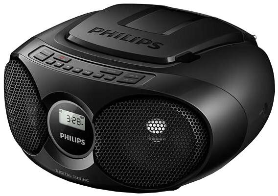 Philips AZ215, černá