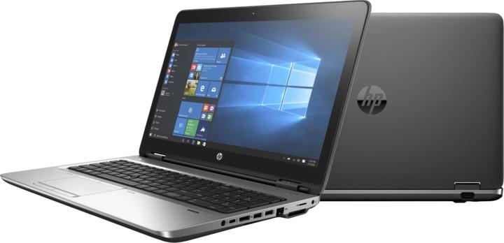 HP ProBook 650 G3, černá