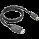 C-TECH kabel DisplayPort/HDMI, 2m, černá