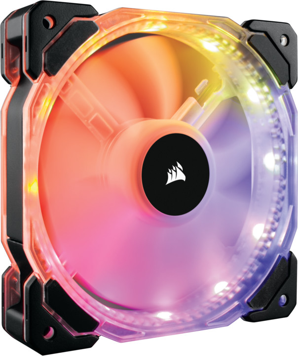 Corsair Air HD140 RGB LED High, 140mm, PWM