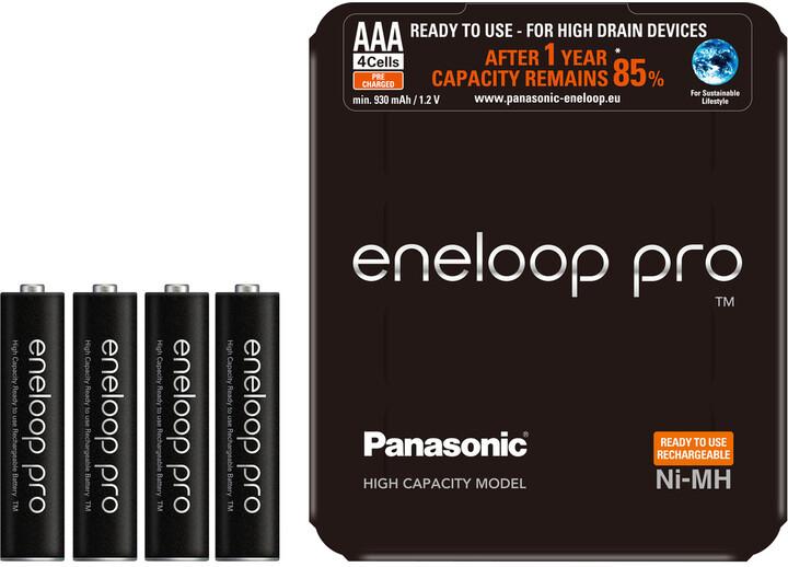 Panasonic Eneloop HR03 AAA 4HCDE/4LE PRO Sliding P
