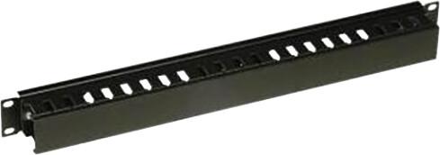"Conteg vyvazovací panel 19"" DP-VP-K02-H, 1U, jednostranný, 9005"