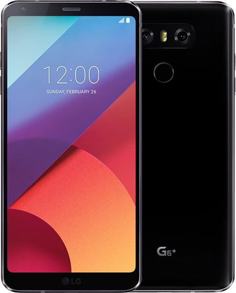 LG G6+ - 128GB, Dual sim, černá