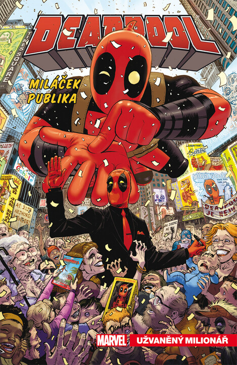 Komiks Deadpool, miláček publika: Užvaněný milionář, 1.díl, Marvel