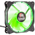 iTek Cosmo Flow - 120mm, Green LED, 3+4pin, Silent