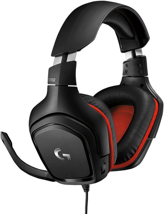 Logitech G332, černá