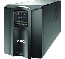 APC Smart-UPS 1500VA se SmartConnect - SMT1500IC + 2 ks Poukázka OMV (v ceně 200 Kč)