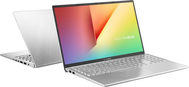 ASUS VivoBook 15 X512JA, stříbrná