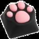 ZOMOPLUS Kitty Paw, MX stem, černá/růžová