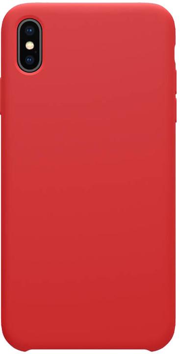 Nillkin Flex Pure Liquid silikonové pouzdro pro iPhone XS, červená