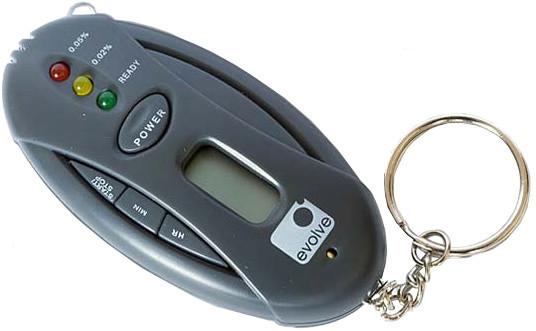 Elektronický alkohol tester, přívěšek na klíče v hodnotě 190 Kč