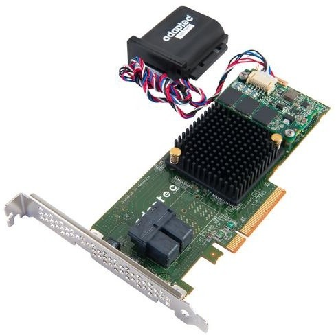 Microsemi Adaptec RAID 7805Q Single SAS/SATA 8 portů, x8 PCIe