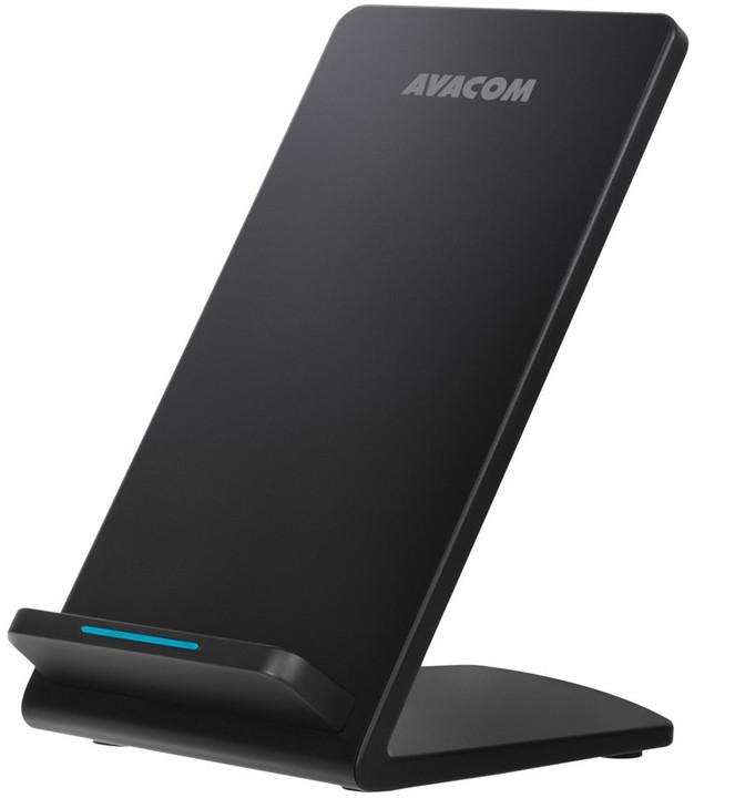 Avacom HomeRAY S10 Charger Stand Qi 10W, černá