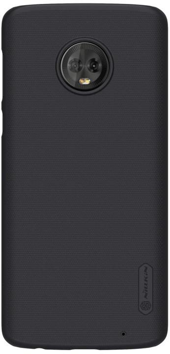 Nillkin Super Frosted zadní kryt pro Lenovo Moto G6 Plus, černý
