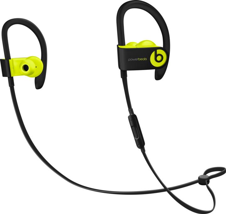 Beats Powerbeats3, ostře žlutá