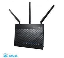 ASUS DSL-AC68U, AC1900, Dual-band Wi-Fi VDSL2/ADSL Aimesh Modem Router, 1x100/1000