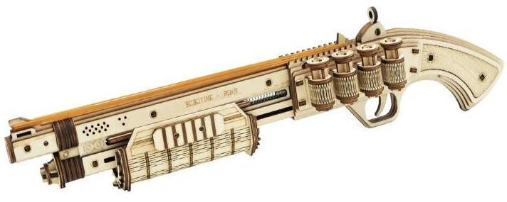 Stavebnice - brokovnice Terminator M870 (dřevěná)