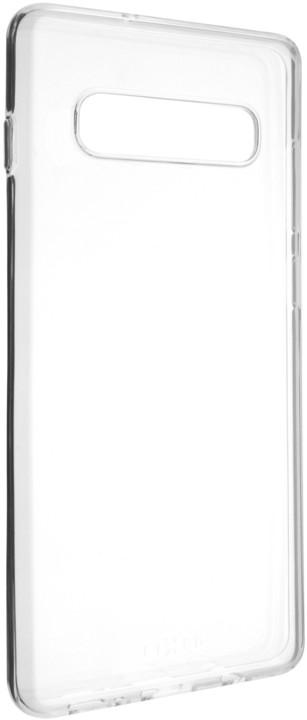 FIXED TPU gelové pouzdro pro Samsung Galaxy S10+, čiré