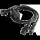 Gembird CABLEXPERT kabel napájecí rozdvojka Y 1,8m