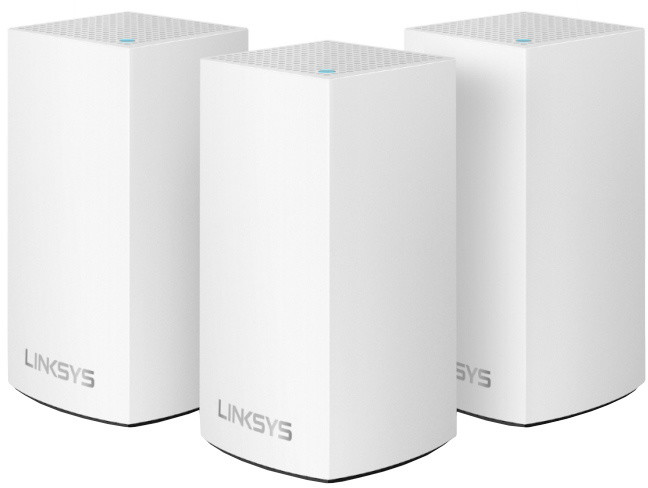 Linksys Velop Whole Home Intelligent Mesh WiFi System, Dual-Band, 3ks