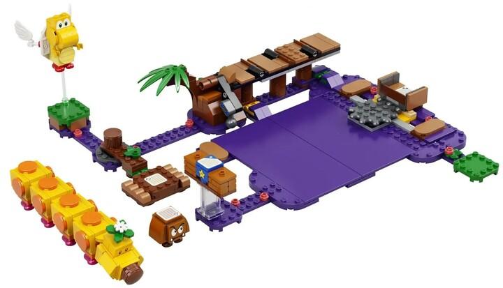 LEGO® Super Mario 71383 Wiggler a jedovatá bažina – rozšiřující set
