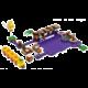 LEGO Super Mario 71383 Wiggler a jedovatá bažina – rozšiřující set