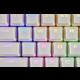 Corsair vyměnitelné klávesy PBT Double-shot, Cherry MX, 104/105 kláves, bílé, US/UK