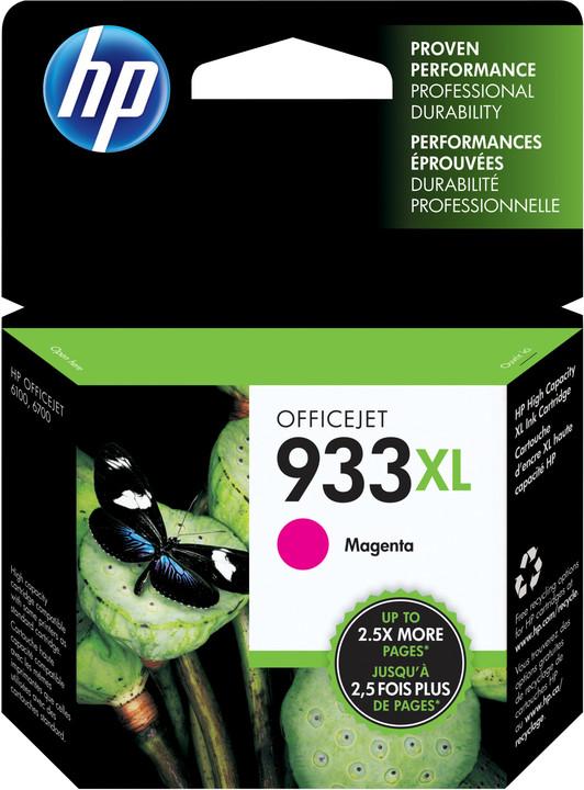 HP CN055AE No.933 XL magenta – ušetřete až 50 % oproti standardní náplni