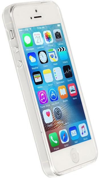 Krusell KIVIK zadní kryt pro Apple iPhone SE, transparentní