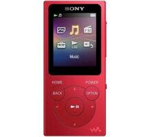 Sony NW-E394L, 8GB, červená - NWE394LR.CEW