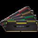 Corsair Vengeance RGB LED 64GB (4x16GB) DDR4 2666, černá