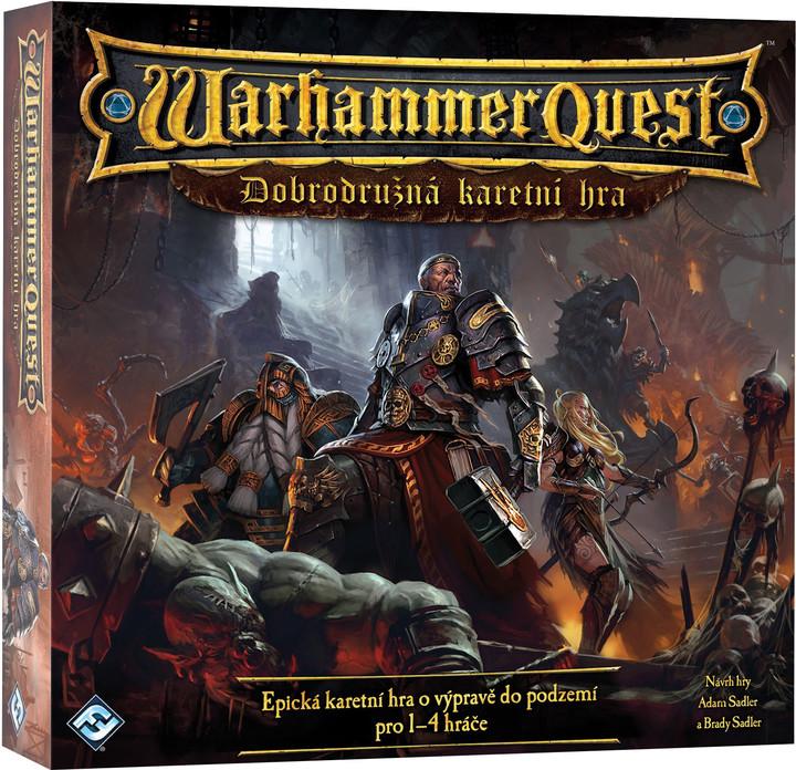Warhammer Quest - karetní hra