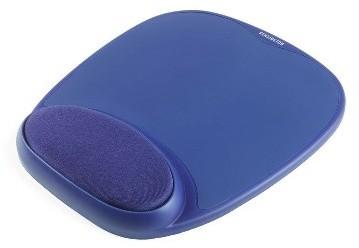 Kensington ergonomická gelová podložka pod myš - modrá