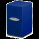 Krabička na karty Ultra Pro: Satin Tower, modrá