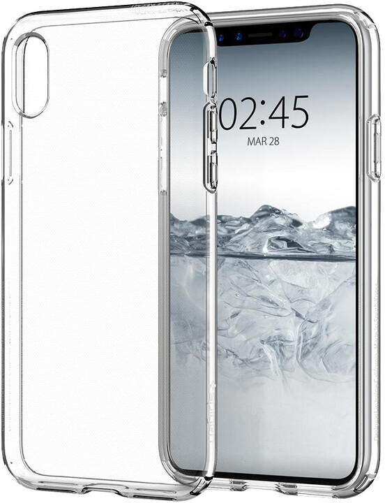 Spigen Liquid Crystal iPhone X, clear