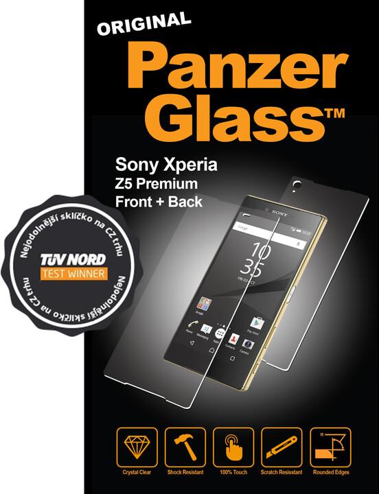 PanzerGlass ochranná sada obrazovky - křišťálově čistá pro Sony Xperia Z5 Premium