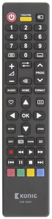 König univerzální dálkové ovládání pro televize Sony