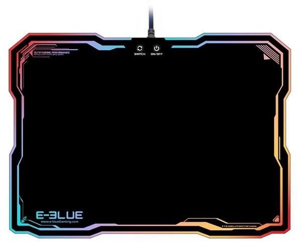 E-Blue RGB, nabíjecí, plastová