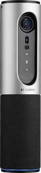 Logitech Conference Cam Connect, stříbrná