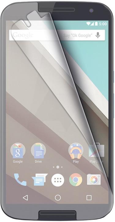 CELLY ochranná fólie displeje pro Motorola Nexus 6, lesklá, 2ks