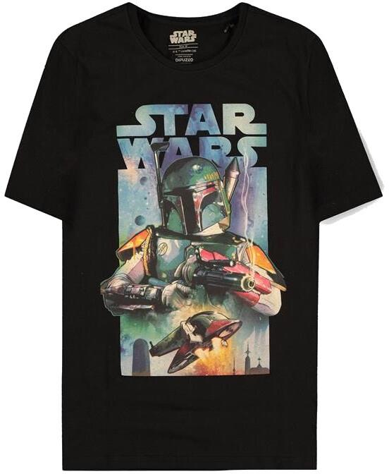 Tričko Star Wars - Boba Fett Poster (XL)