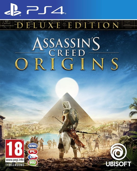 Assassin's Creed: Origins - Deluxe Edition (PS4)